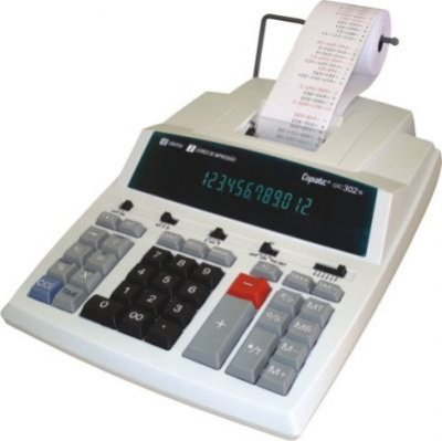 Calculadora de Mesa Copiatic CIC 302TS