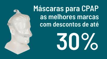 Máscaras com 30%OFF