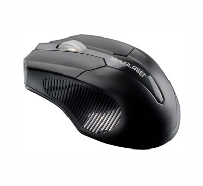 Mouse Multilaser Sem Fio 2.4 Ghz 1600 Dpi Preto MO221