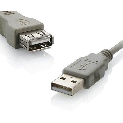 Cabo Extensor USB 2.0 Tamanho 1.8M Multilaser - WI026