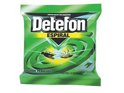 INSETCIDA ESPIRAL DETEFON COM 10UN