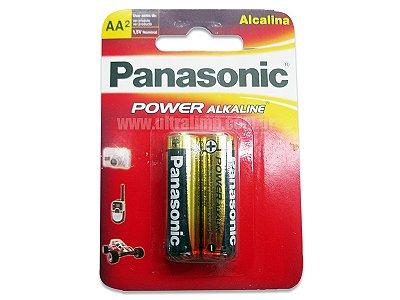 PILHA PANASONIC ALC POWER AA C/2