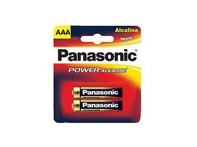 PILHA PANASONIC ALC POWER AAA C/2