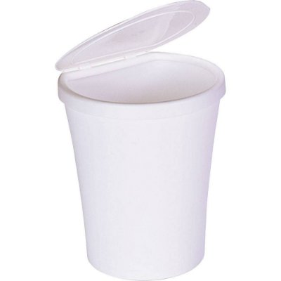LIXEIRA PLAST C/TAMPA BCA 5L ARTHI
