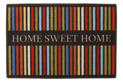 TAPETE CLEANKASA HOME SWEET HOME LISTRAS 40X60CM