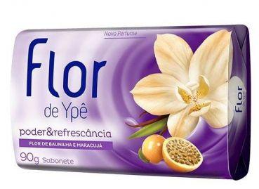 SAB FLOR DE YPE FLOR BAUNILHA/MARACUJA 90G