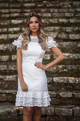 Vestido Isabela em Renda