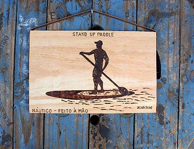 QUADRO STAND UP PADDLE (COLEÇÃO NÁUTICOS)