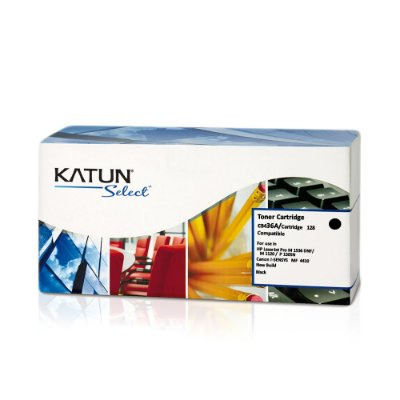 Toner HP CB436A | HP 36A Preto Katun para 2.000 páginas