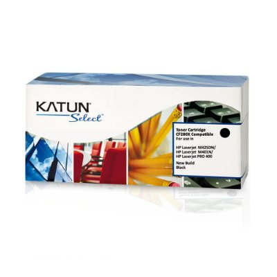 Toner HP CF280X | HP 80X Preto Katun para 6.900 páginas