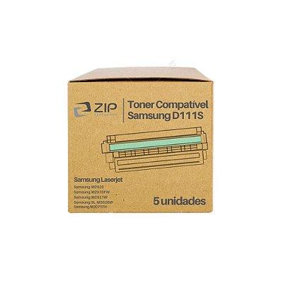 Kit 5 Toners Samsung MLT-D111S | D111S Xpress Preto Compatíveis