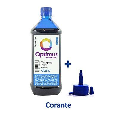 Tinta Epson T664220 | 664 Optimus Corante Ciano 1 litro