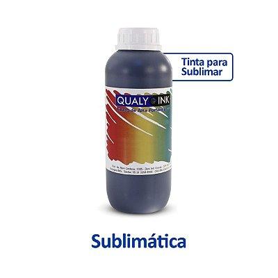 Tinta Epson T664120 EcoTank Sublimática Qualy Ink Preta 1 litro