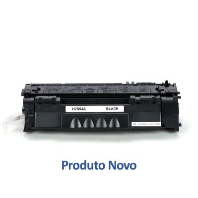 Toner para HP P2015 | P2014 | Q7553A | HP 53A Preto Compatível