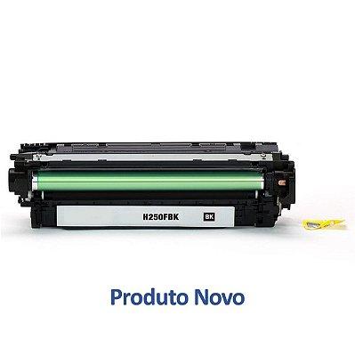 Toner HP CE250A | CP3525 | CM3530 LaserJet Preto Compatível