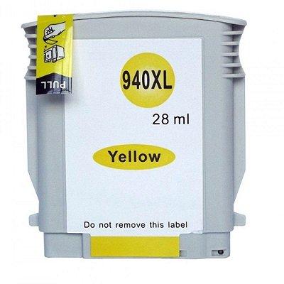 Cartucho para HP Pro 8000 | Pro 8500A | HP 940XL Amarelo Compatível 28ml