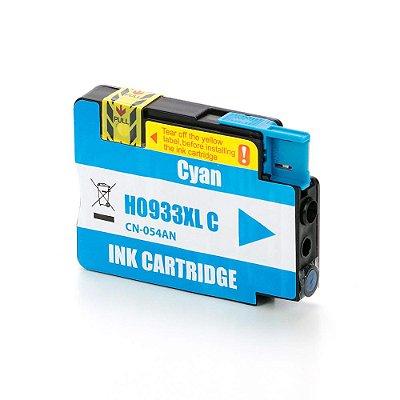 Cartucho para HP 7110   CN054AL   HP 933XL Ciano Compatível 17ml