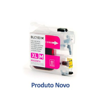 Cartucho Brother LC105M Magenta Compatível 9ml