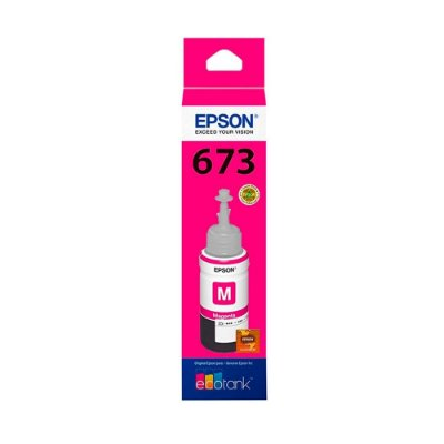 Tinta Epson L1800 | T673320 EcoTank Magenta Original 70ml