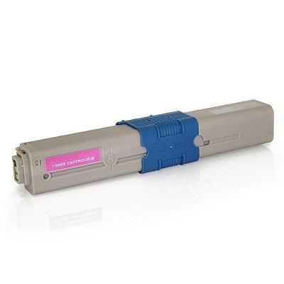 Toner para Okidata C530dn | C531dn | C310n | 44469702 Magenta Compatível