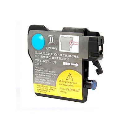 Cartucho para Brother J125 | DCP-J125 | LC61C Ciano Compatível