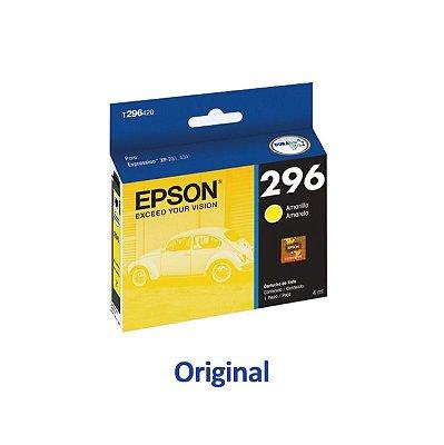 Cartucho Epson XP-231 | XP-431 | T296420 Amarelo Original