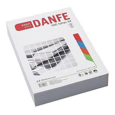 Papel Microserrilhado, Sulfite, para Nota Fiscal DANFE, 75g, 500 folhas