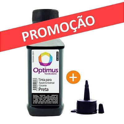 Tinta Epson L375 para Impressora EcoTank Optimus Preta
