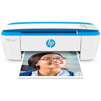Impressora HP 3776 Multifuncional Deskjet Ink Advantage, Bivolt, Branca
