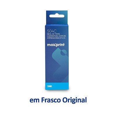 Garrafa de Tinta Epson L4150 EcoTank | T504220 | 504 Ciano Maxprint 70ml