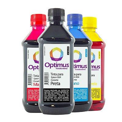 Kit de Tintas Epson L455 | 455 EcoTank Optimus 2 litros
