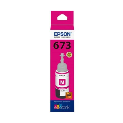 Tinta Epson L805 | 673 | T673320 EcoTank Magenta Original 70ml
