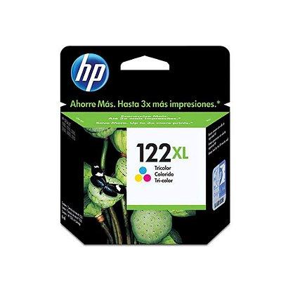 Cartucho HP 1510   HP 122XL   CH564HB   Deskjet Colorido Original 6ml