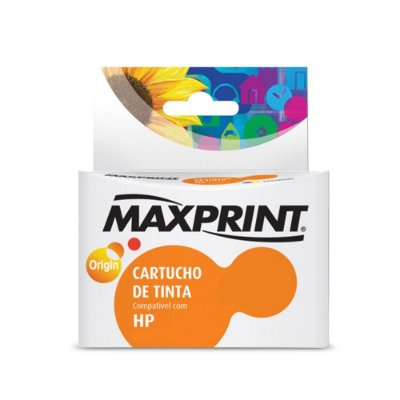 Cartucho HP D110a | HP 60XL | CC641WB | HP 60 PhotoSmart Preto Maxprint 13ml