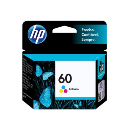 Cartucho HP D2660| HP 60 | CC643WB | HP 60 DeskJet Colorido Original 3ml