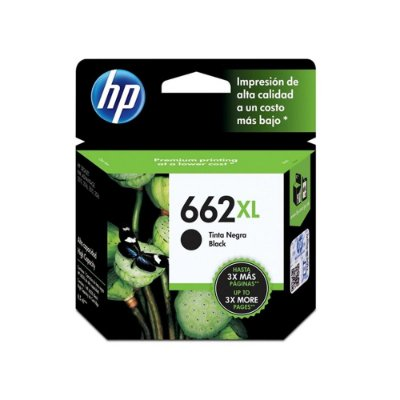 Cartucho HP 3546 | HP 662XL | CZ105AB Deskjet Ink Advantage Preto Original 6,5ml