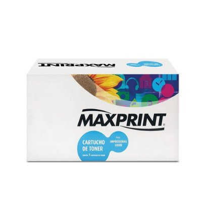 Toner Samsung ML-1666 | 1666 | D104S Laser Maxprint Preto para 1.500 páginas