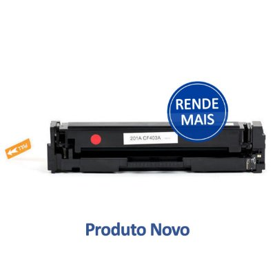 Toner HP M252dw | CF403X | 201X LaserJet Pro Magenta Compatível para 2.300 páginas
