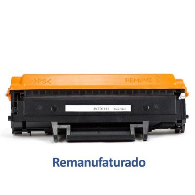 Toner Samsung D111S | MLT-D111S | D111 Xpress Preto Remanufaturado para 1.000 páginas