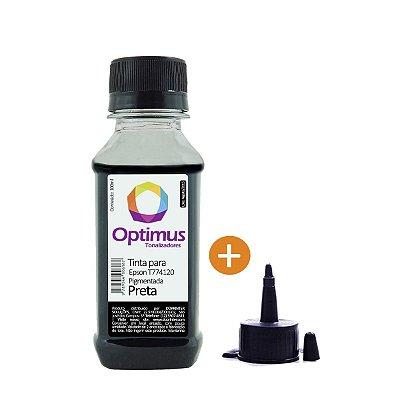 Tinta Epson L656 EcoTank | 774 | T774120 Optimus Pigmentada Preto 100ml