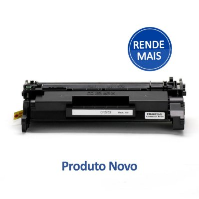 Toner HP M426fdw | M426 | 226X | CF226X Compatível para 9.000 páginas