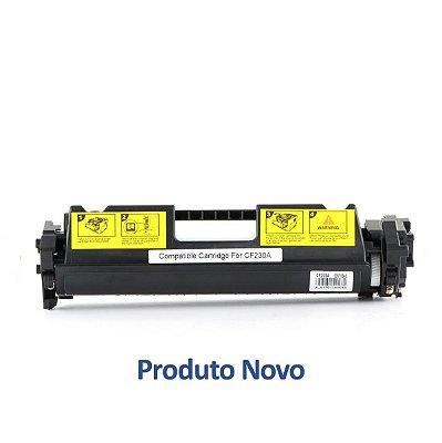 Toner HP CF230A | 30A | 230A LaserJet Pro Preto Compatível para 1.600 páginas