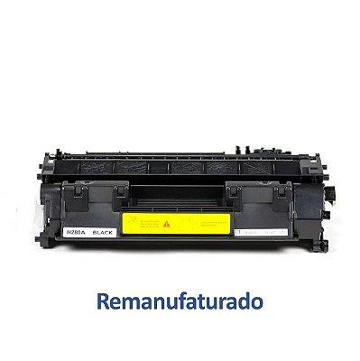 Toner HP P2035N LaserJet   CE505A   05A Preto Ramanufaturado para 2.300 páginas