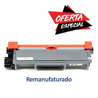 Toner Brother TN660 | Brother TN-660 Preto Remanufaturado para 2.600 páginas