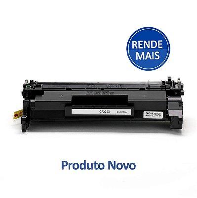 Toner HP 26X | 226X | CF226X LaserJet Pro Preto Compatível para 9.000 páginas