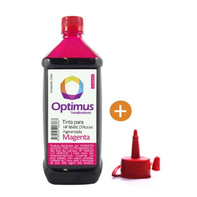Tinta HP 964 OfficeJet Pro | HP 964XL Magenta Pigmentada 1 litro