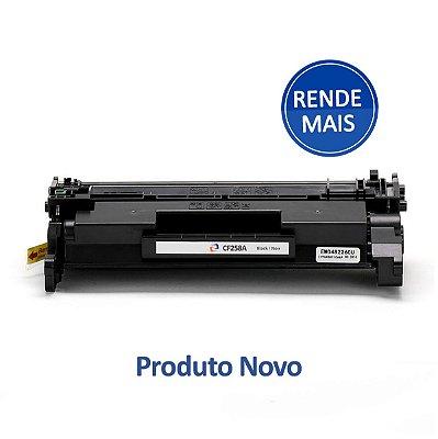 Toner HP CF258X LaserJet Preto Compatível para 9.800 páginas