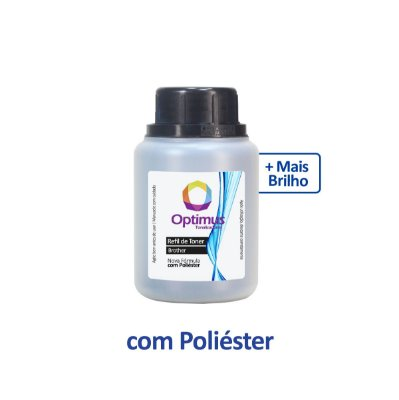 Refil de Pó de Toner Brother TN-217BK Optimus Preto 100g