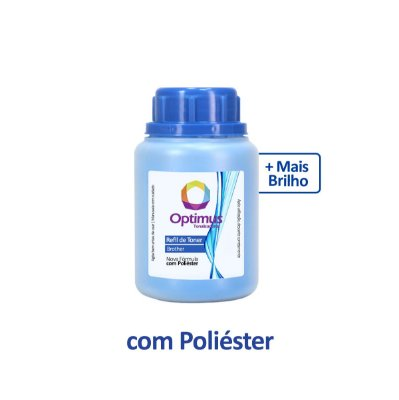 Refil de Pó de Toner Brother TN-217C Optimus Ciano 75g