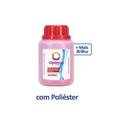 Refil de Pó de Toner Brother TN-213M Optimus Magenta 35g